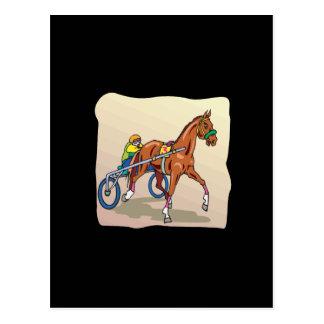 Horse Racing 3 Postcard
