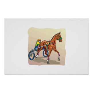 Horse Racing 3 Print