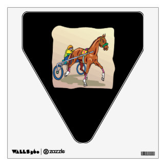 Horse Racing 3 Wall Sticker