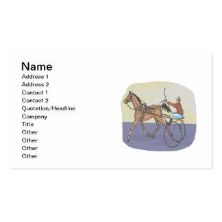 Horse Racing 4 Business Card