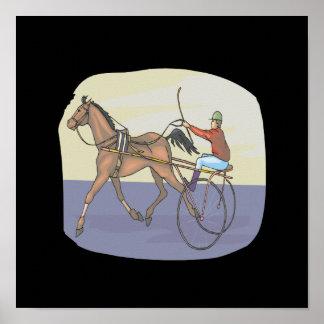 Horse Racing 4 Poster