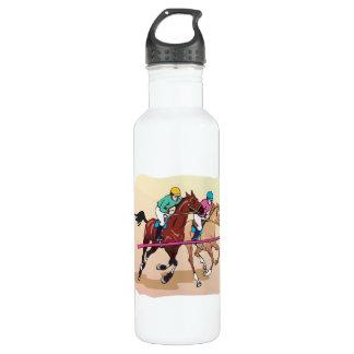 Horse Racing 7 24oz Water Bottle