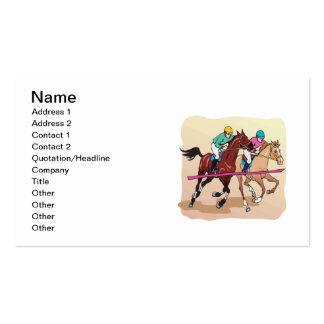 Horse Racing 7 Business Card Templates
