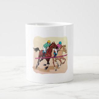 Horse Racing 7 Giant Coffee Mug