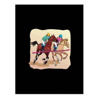 Horse Racing 7 Postcard