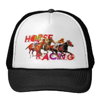 Horse Racing Action Trucker Hat
