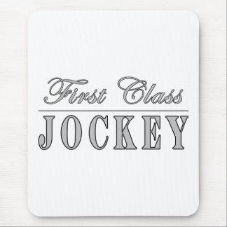Horse Racing and Jockeys : First Class Jockey Mousepads