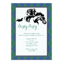 Horse Racing Argyle 2 Invitation