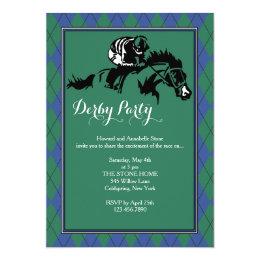Horse Racing Argyle Invitation