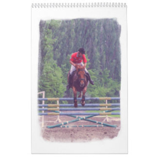 Horse racing at the racetrack calendar