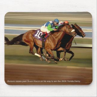 Horse Racing - Bar-bar-o Mouse Pads