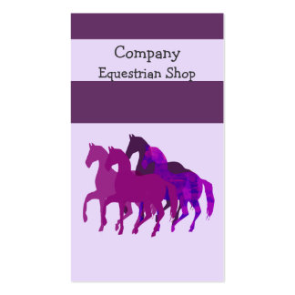 Horse Racing Business Card Template