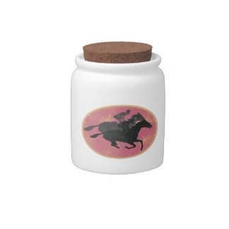 Horse Racing Candy Jars