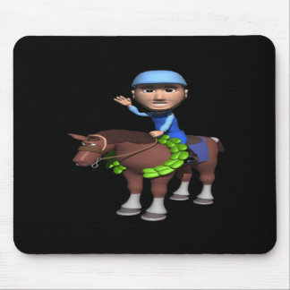 Horse Racing Champion Mouse Pad