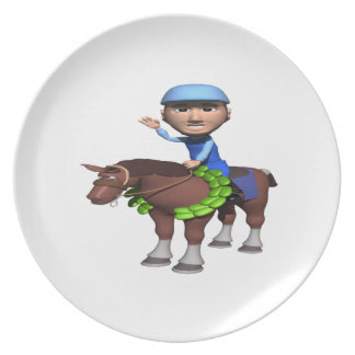 Horse Racing Champion Dinner Plates