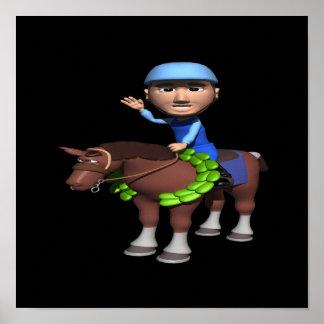 Horse Racing Champion Print