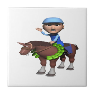 Horse Racing Champion Ceramic Tiles