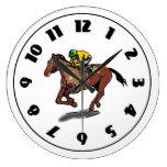 Horse Racing Clock