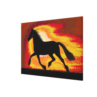 "Horse Racing Club 36 x 24"" Wrapped Canvas"