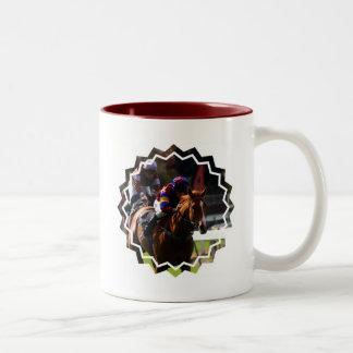 Horse Racing Coffee Mug