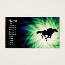 Horse Racing; Cool Business Card