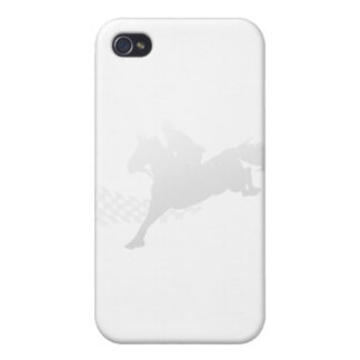 Horse Racing Cover For iPhone 4