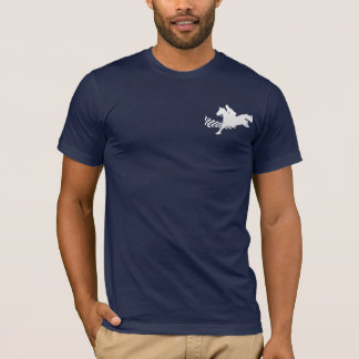 Horse Racing Dark T-Shirt Vertical