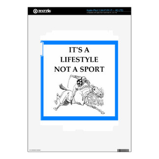 horse racing decals for iPad 3