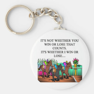 horse racing derby key chains