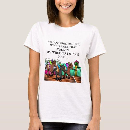 horse racing derby T-Shirt