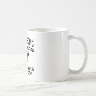 Horse Racing Design Coffee Mugs