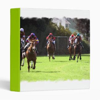 Horse Racing Field Binder