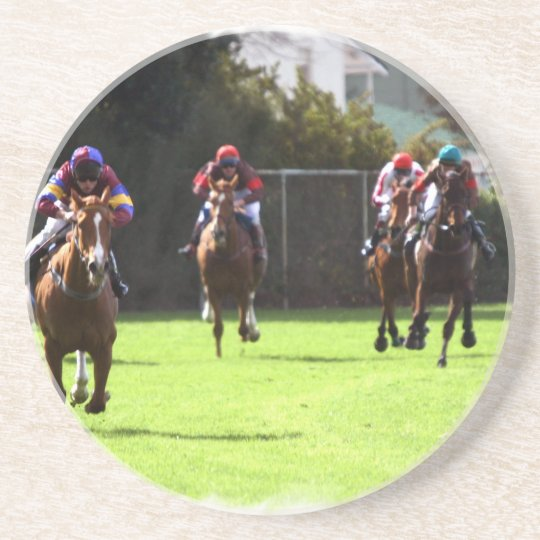 Horse Racing Field Coasters