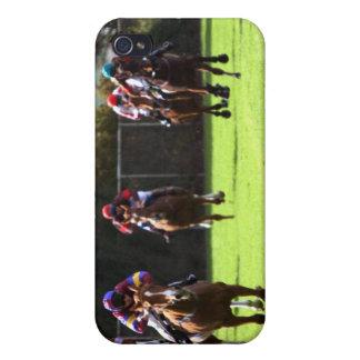 Horse Racing Field iPhone 4 Case