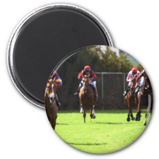 Horse Racing Field Magnet Refrigerator Magnet