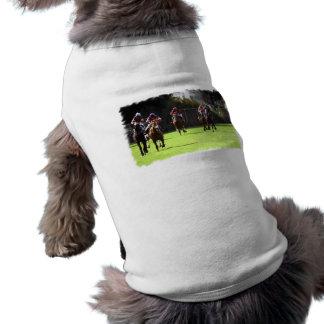Horse Racing Field Pet Shirt