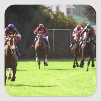 Horse Racing Field Stickers