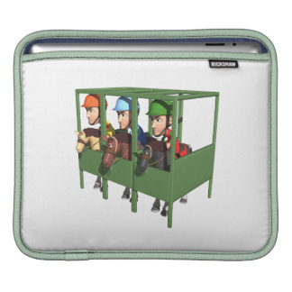 Horse Racing Gate Sleeves For iPads