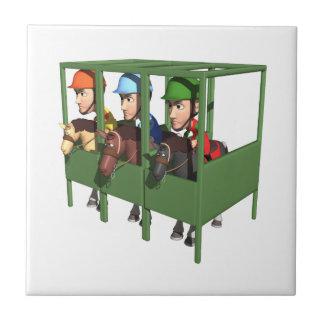 Horse Racing Gate Tile