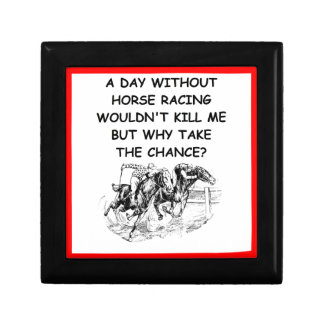 horse racing keepsake boxes