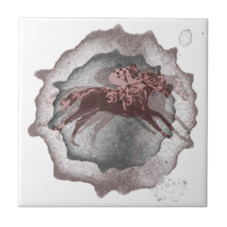 Horse Racing Gifts Ceramic Tile