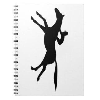 horse racing icon notebook