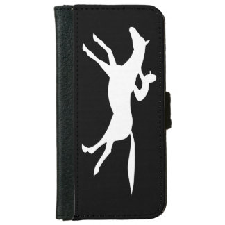 horse racing icon iPhone 6 wallet case