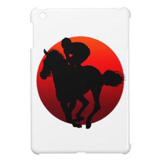 horse racing iPad mini case