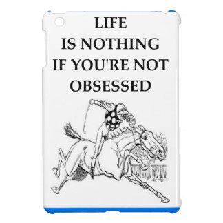 horse racing iPad mini cases