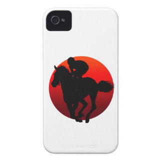 horse racing iPhone 4 Case-Mate cases