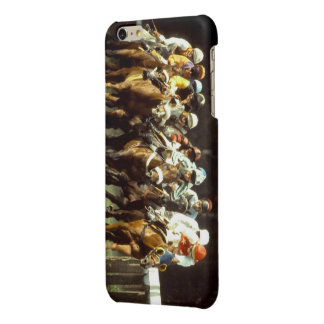 Horse Racing iPhone-6-6s-Plus-Glossy-Finish-Case Glossy iPhone 6 Plus Case