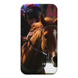 Horse Racing iPhone Case iPhone 4 Cover