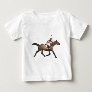 Horse Racing Jockey and Horse Baby T-Shirt