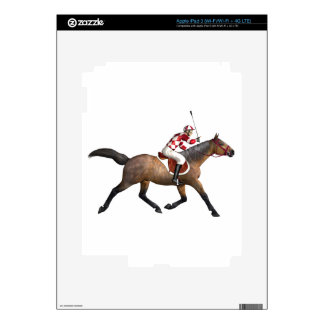 Horse Racing Jockey and Horse Decals For iPad 3